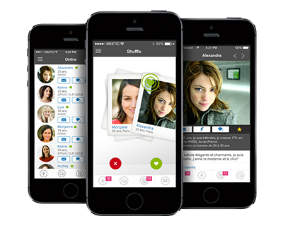 application mobile meetic